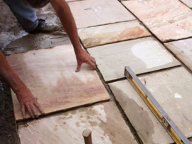 sandstone paving and pavers Geelong